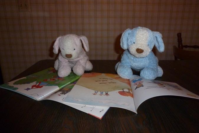 Doggies studying